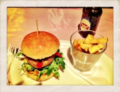 Best burgers at Sleazy's in Glasgow